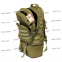 Тактический армейский супер-крепкий рюкзак трансформер 40-60 литров Олива, Кордура 500 ден TM 5.15.b 5
