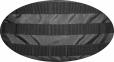 Тактический походный супер-крепкий рюкзак на 40 литров Черный с ортопедической спиной, TM 5.15.b 1