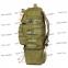 Тактический армейский супер-крепкий рюкзак трансформер 40-60 литров Олива, Кордура POLY 900 ден TM 5.15.b 2