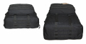 Тактический туристический крепкий рюкзак трансформер 45-65 литров чёрный 5.15.b 4