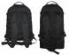 Тактический туристический супер-крепкий рюкзак трансформер 45-65 литров чёрный Кордура POLY 900 ден 5.15.b 3