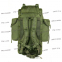 Туристический тактический армейский супер-крепкий рюкзак 75 литров Олива. Кордура 1000 den, TM 5.15.b 4