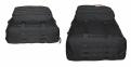 Тактический туристический супер-крепкий рюкзак трансформер 45-65 литров чёрный Кордура POLY 900 ден 5.15.b 4