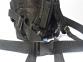 Тактический армейский супер-крепкий рюкзак 25 литров Черный, TM 5.15.b 5