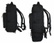 Тактический туристический супер-крепкий рюкзак трансформер 45-65 литров чёрный Кордура POLY 900 ден 5.15.b 2