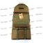Тактический армейский супер-крепкий рюкзак трансформер 40-60 литров Койот Армия, TM 5.15.b 2