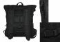 Роллтоп, городской рюкзак Милитари 30 литров Черный Rolltop. TM 5.15.b 6