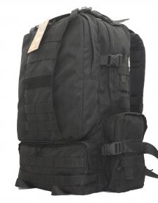 Тактический армейский крепкий рюкзак 50 литров Черный, TM 5.15.b