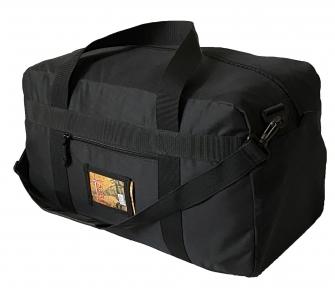 Тактическая крепкая сумка 50 Литров. Экспедиционный баул. Черная. ВСУ, TM.5.15.b