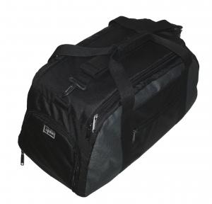 Спортивная сумка-рюкзак 30 литров 139/1 черная с серой вставкой, TM.5.15.b