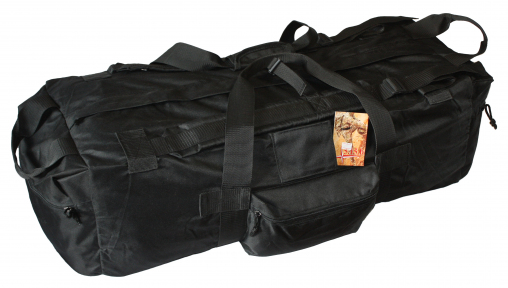 Тактическая крепкая сумка 75 литров. Экспедиционный баул. Черный, TM.5.15.b