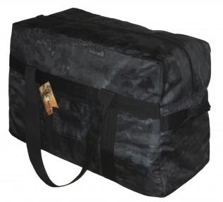 Тактическая супер-крепкая сумка 75 Литров. Экспедиционный баул. АТАКС Черный . ВСУ, TM.5.15.b