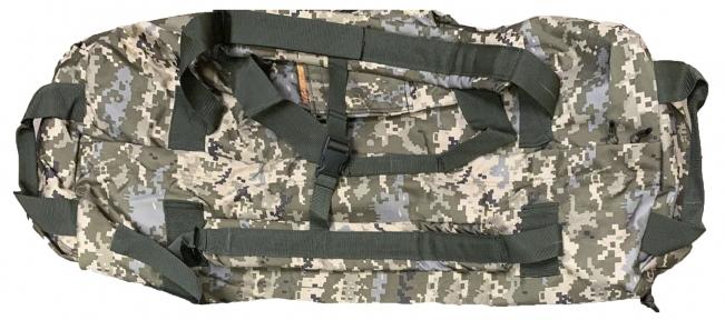 Тактическая супер-крепкая сумка 75 литров. Экспедиционный баул. Украинский пиксель, TM.5.15.b