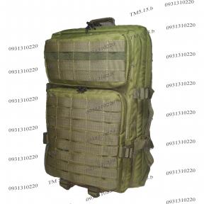Тактический, штурмовой супер-крепкий рюкзак 38 литров Олив, TM.5.15.b