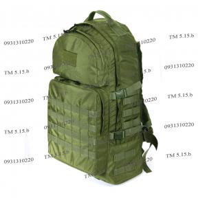 Тактический армейский супер-крепкий рюкзак 60 литров Олива, TM 5.15.b