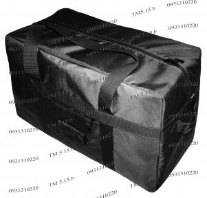 Тактическая супер-крепкая сумка 100 Литров, Черный, Экспедиционный баул, TM.5.15.b
