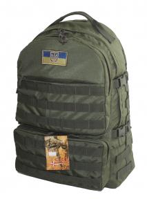 Тактический походный крепкий рюкзак на 40 литров Олива с ортопедической спиной, TM 5.15.b