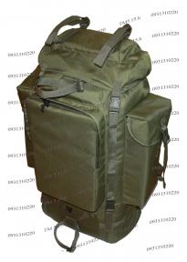 Тактический туристический армейский супер-крепкий рюкзак на 100 л. с ортопедической пластиной Олива 900 ден TM.5.15.b
