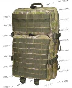 Тактический, штурмовой супер-крепкий рюкзак 38 литров, Мультикам, TM.5.15.b