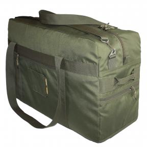 Тактическая крепкая сумка 75 Литров. Экспедиционный баул. Олива. ВСУ, TM.5.15.b