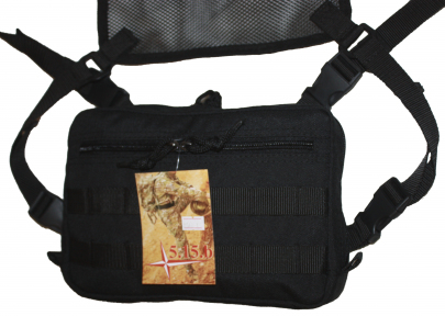 Тактическая сумка-барсетка сумка-планшет Черный 340/1, TM.5.15.b
