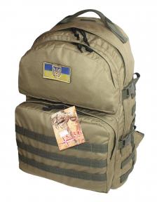 Тактический армейский крепкий рюкзак 40 литров Койот, TM 5.15.b