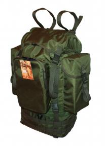 Туристический тактический армейский крепкий рюкзак 65 литров Олива с ОРТОПЕДИЧЕСКОЙ спинкой, TM 5.15.b