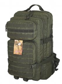 Тактический, штурмовой супер-крепкий рюкзак 38 литров Олива, Кордура 500 ден TM.5.15.b