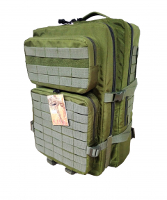 Тактический армейский походный штурмовой 3-х дневный рюкзак на 50 литров Олива  Cordura 1000D, TM 5.15.b
