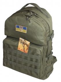 Тактический армейский крепкий рюкзак 40 литров Афган (Хаки), TM 5.15.b