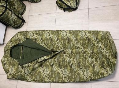 Армейский спальный мешок зима, образца НАТО -20 олива, черный, пиксель