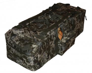 Тактическая крепкая сумка 75 литров. Экспедиционный баул. Украинский пиксель, TM.5.15.b