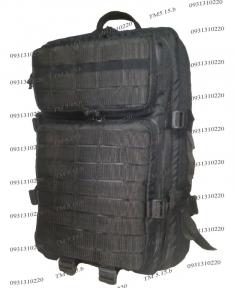 Штурмовой супер-крепкий рюкзак 38 литров черный TM.5.15.b