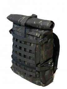 Роллтоп, городской рюкзак Милитари 30 л Атакс олива Кордура 1200 ден Rolltop TM 5.15.b