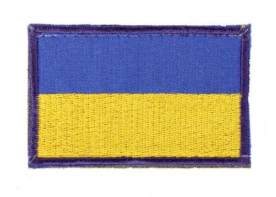 Патч Флаг Украины на липучке 60 х 40 Velcro для кепки-бейсболки и панамы, TM 5.15.b