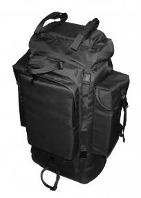 Туристический тактический армейский супер-крепкий рюкзак 105 литров Черный, TM.5.15.b