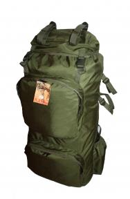 Экспедиционный тактический армейский супер-крепкий рюкзак 90 литров Олива, TM 5.15.b