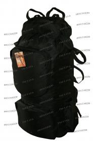 Экспедиционный тактический армейский супер-крепкий рюкзак 90 литров Черный, TM 5.15.b