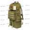 Тактический армейский супер-крепкий рюкзак трансформер 40-60 литров Олива, TM 5.15.b